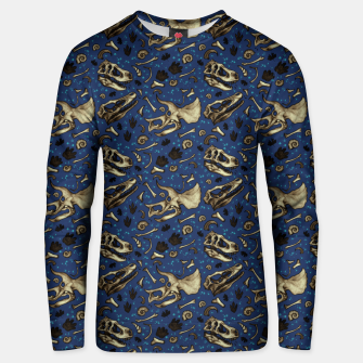 Thumbnail image of Fossil Bed Pattern Unisex sweater, Live Heroes