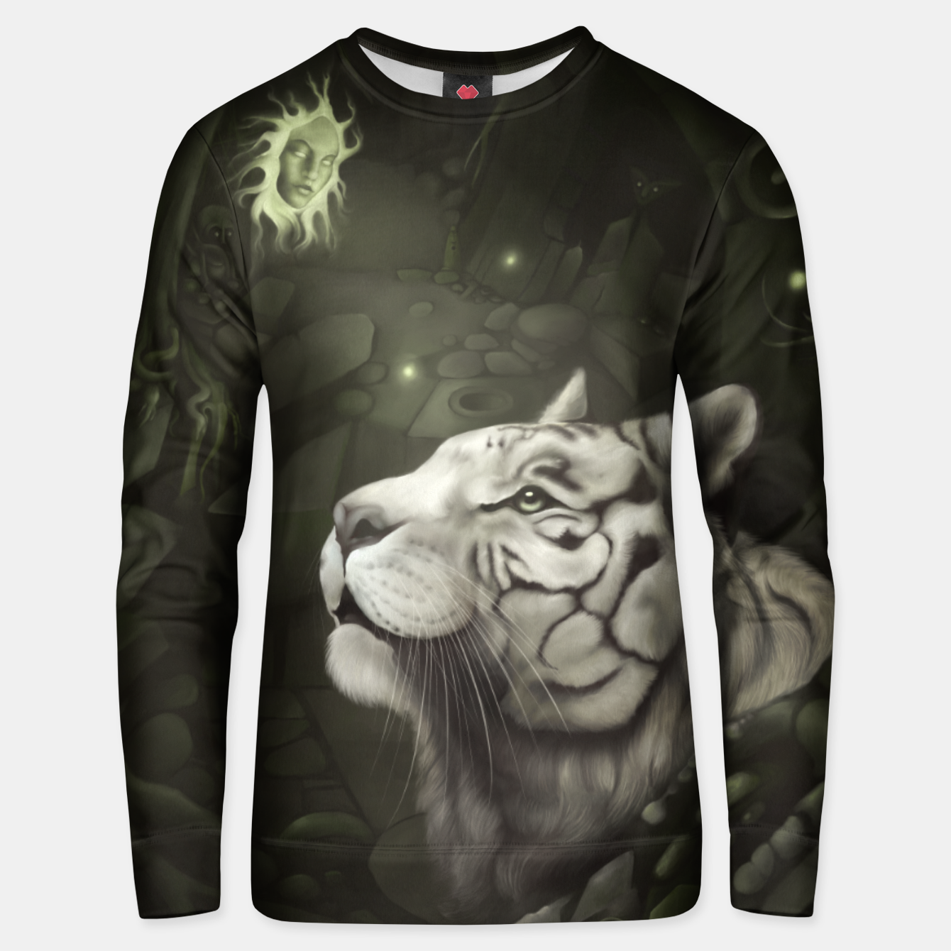 Image of The Cave of Spirits Unisex sweater - Live Heroes