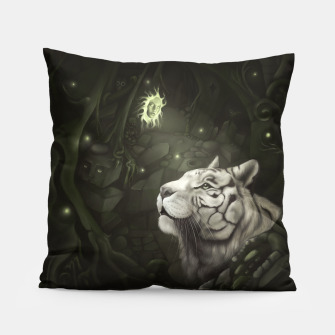 The Cave of Spirits Pillow thumbnail image