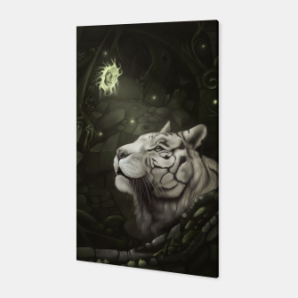 The Cave of Spirits Canvas thumbnail image