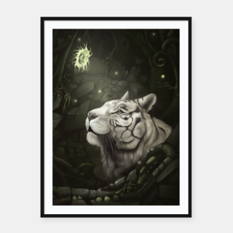 The Cave of Spirits Framed poster thumbnail image