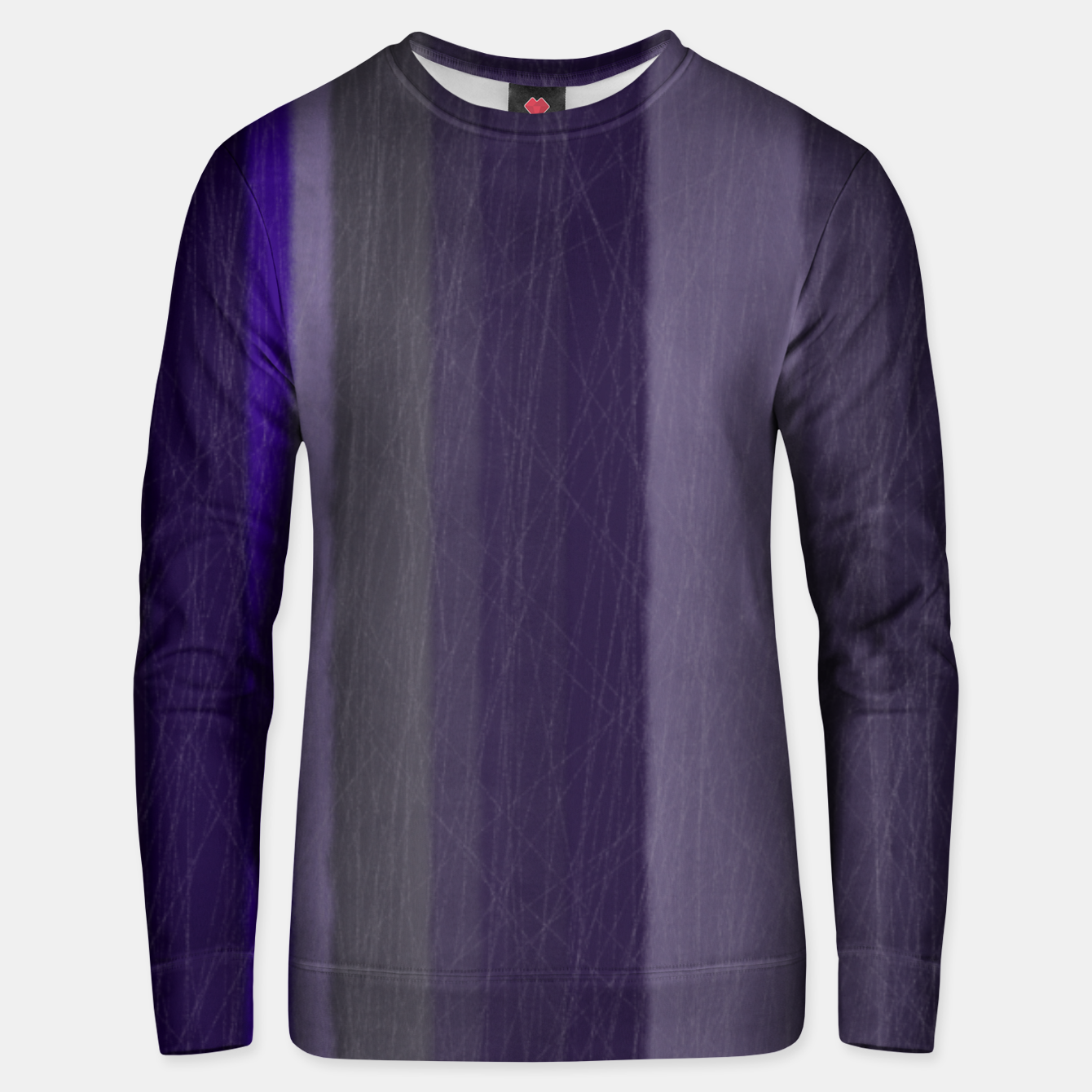 Image of purple Unisex sweater - Live Heroes