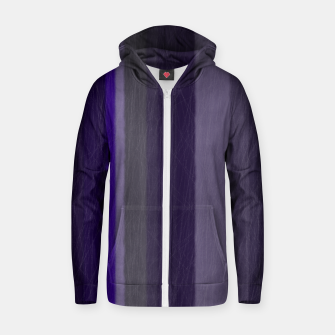 purple Zip up hoodie thumbnail image