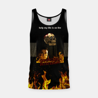 Miniaturka diagnosed depression Tank Top, Live Heroes