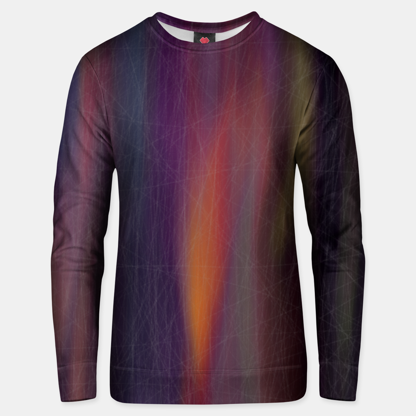 Image of colors mix Unisex sweater - Live Heroes