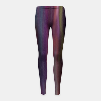 Thumbnail image of colors mix Girl's leggings, Live Heroes