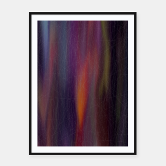 Thumbnail image of colors mix Framed poster, Live Heroes