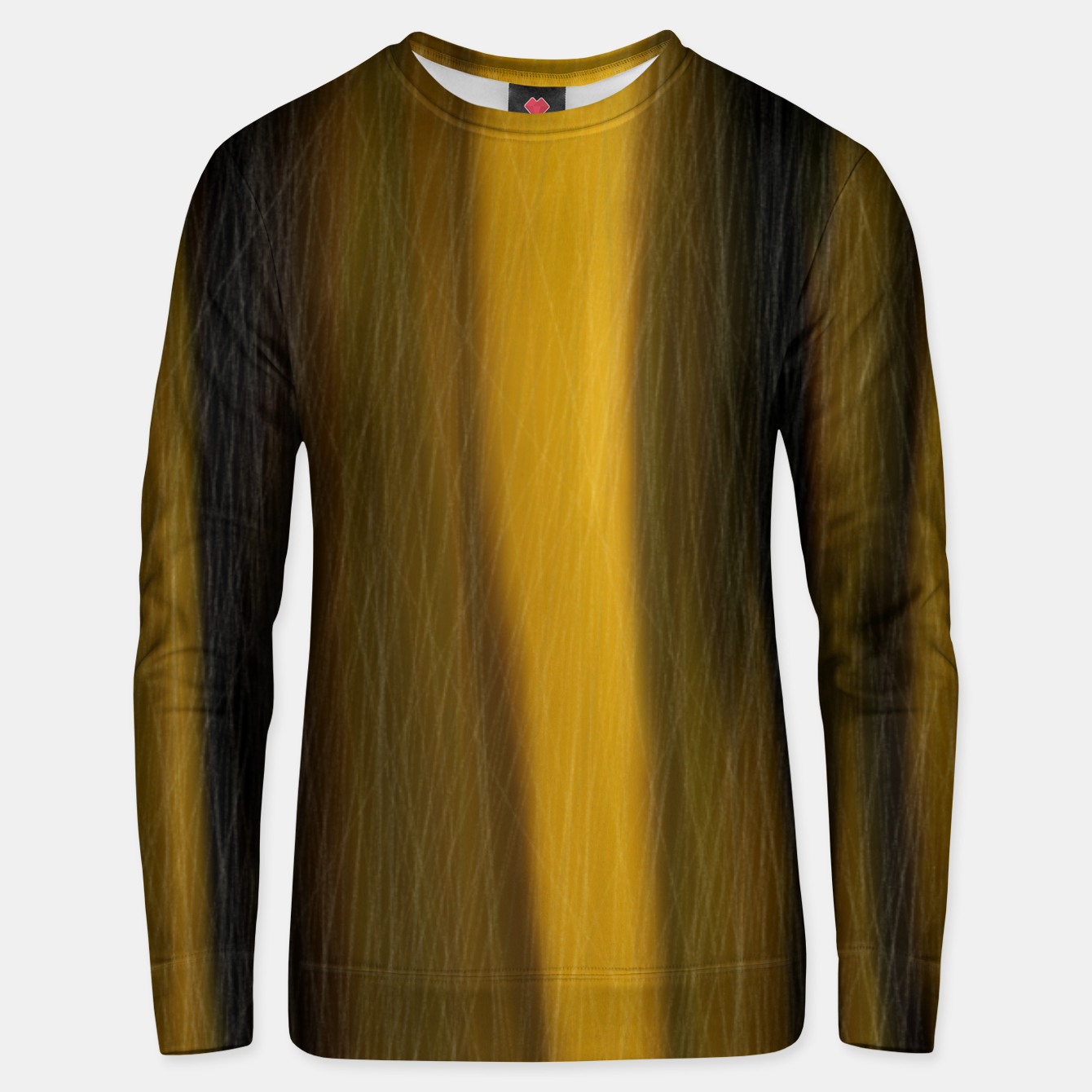 Image of yellow  Unisex sweater - Live Heroes