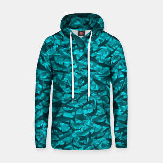 Sharks camouflage Hoodie thumbnail image