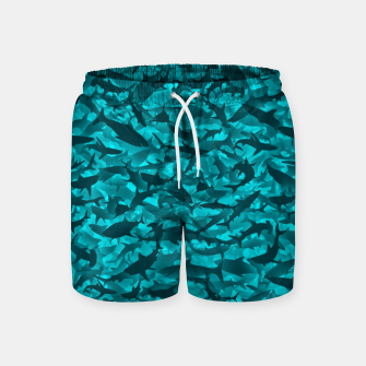 Sharks camouflage Swim Shorts thumbnail image