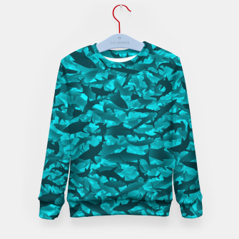 Sharks camouflage Kid's sweater thumbnail image
