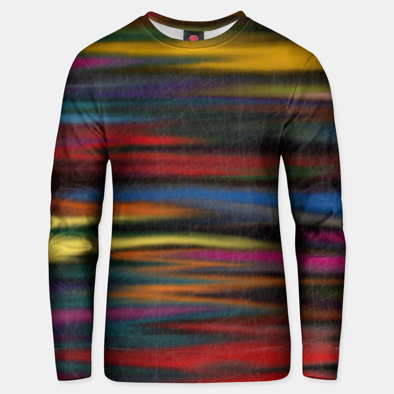 Image of colorful Unisex sweater - Live Heroes