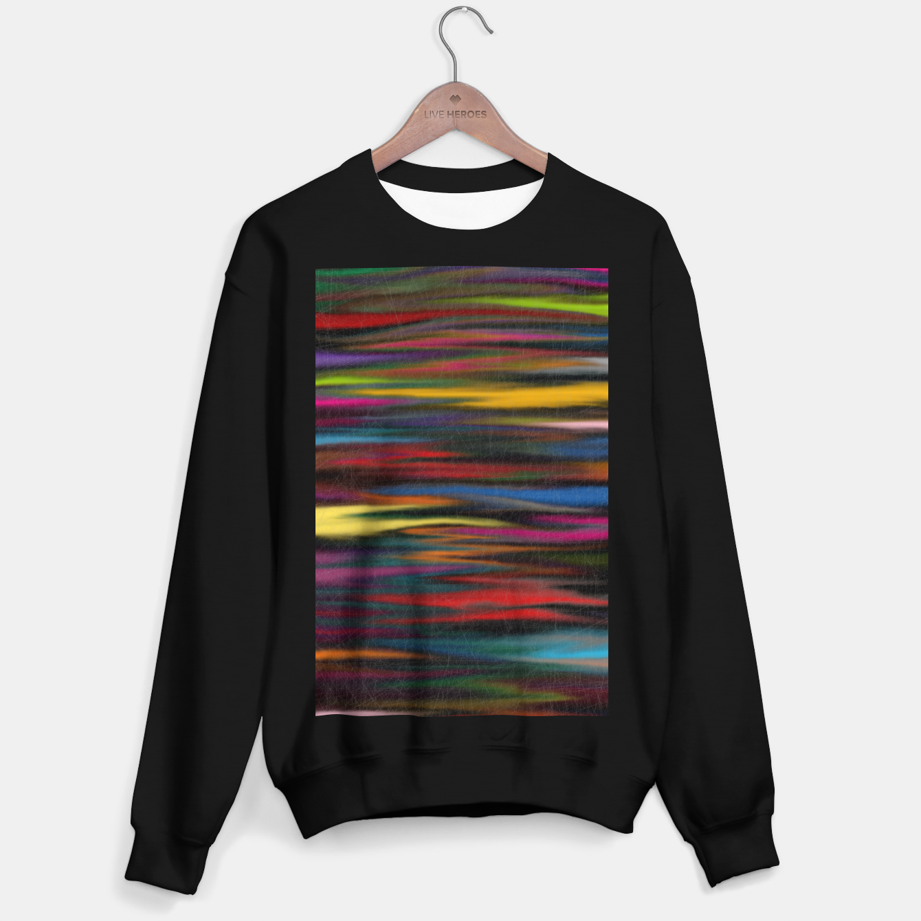 Image of colorful Sweater regular - Live Heroes