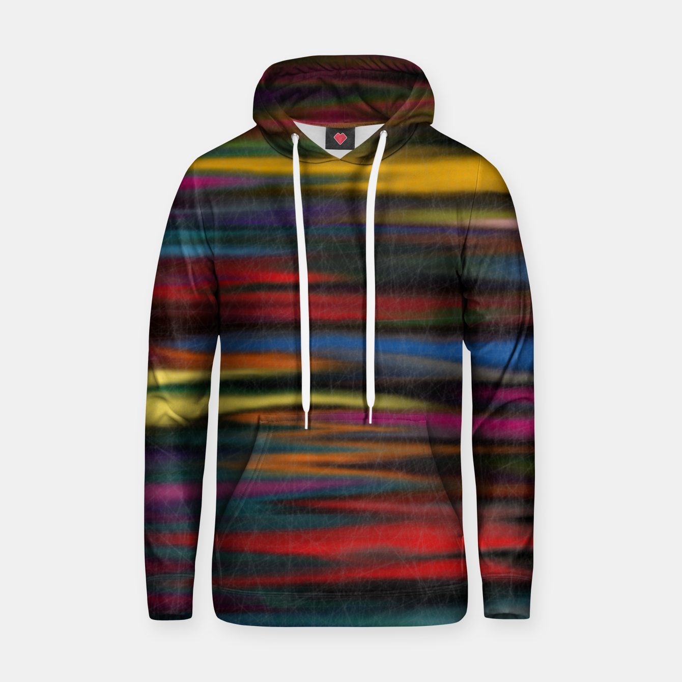 Image of colorful Hoodie - Live Heroes