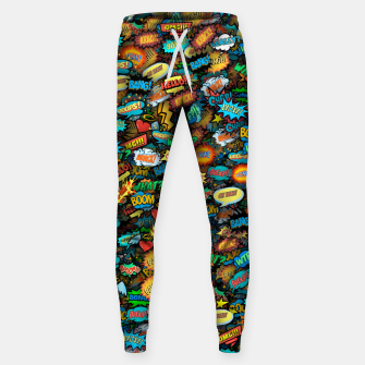 Comics special effects Sweatpants thumbnail image