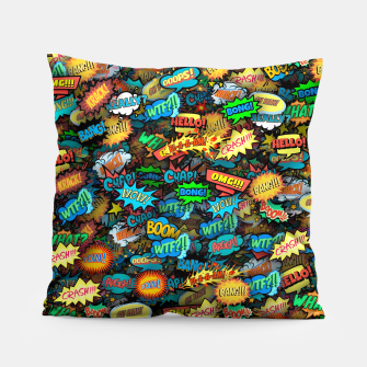 Comics special effects Pillow thumbnail image
