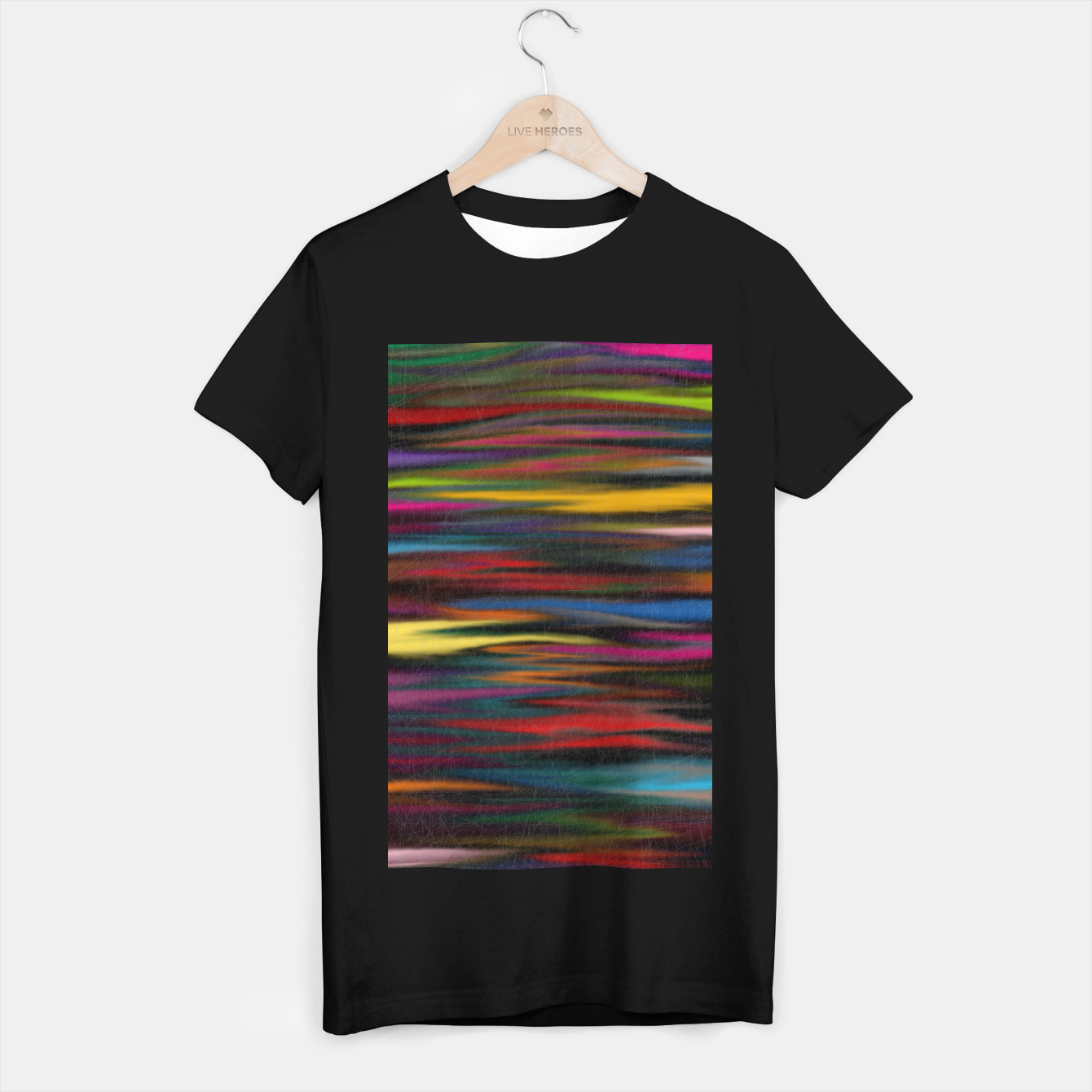 Image of colorful T-shirt regular - Live Heroes