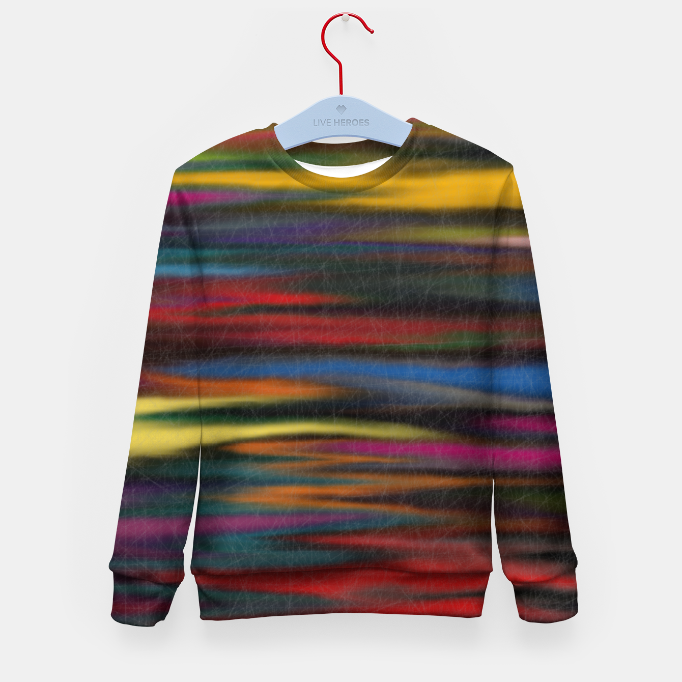 Image of colorful Kid's sweater - Live Heroes