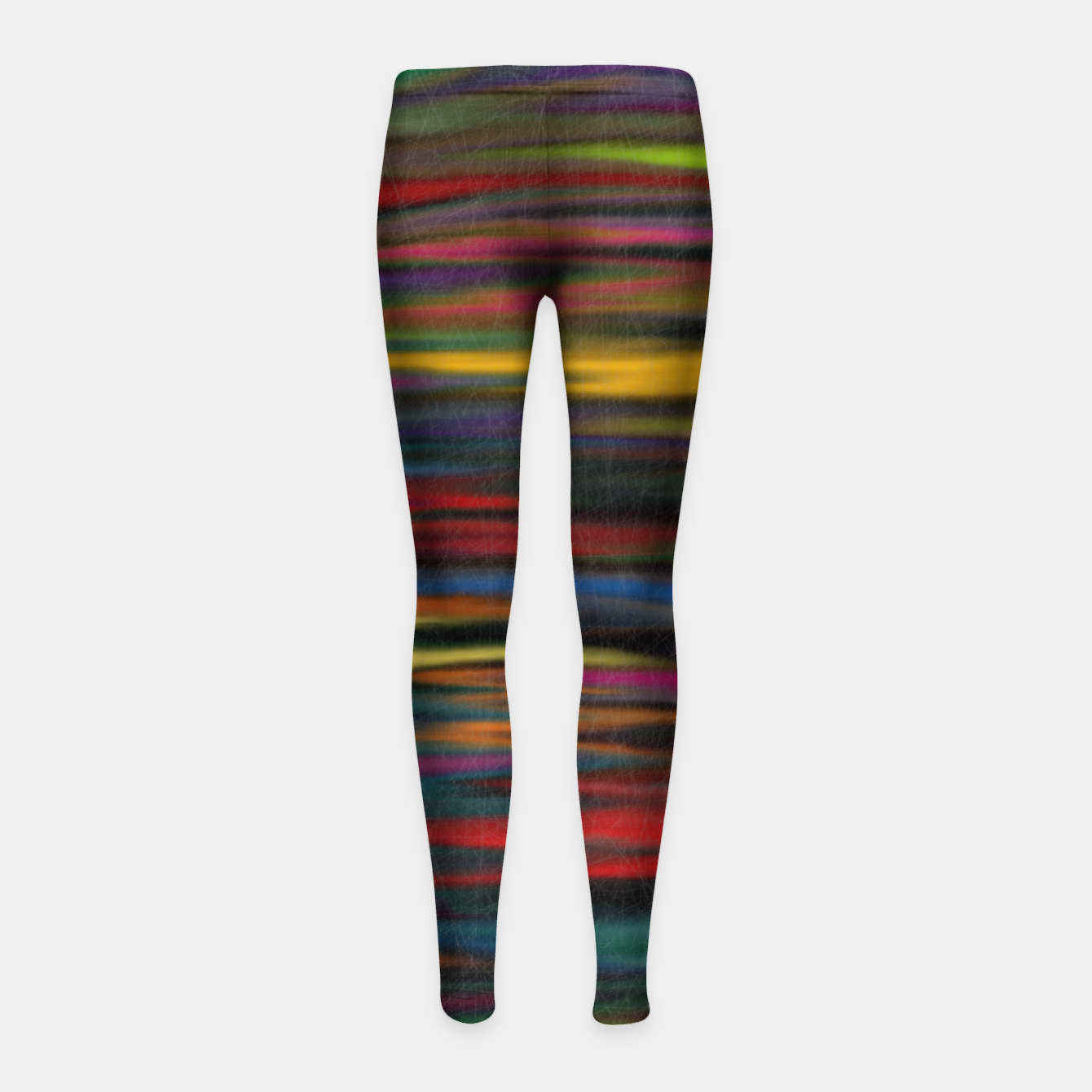 Image of colorful Girl's leggings - Live Heroes