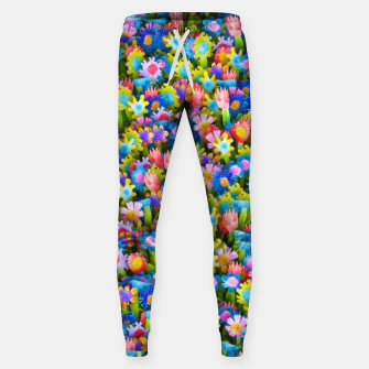 Thumbnail image of Flowers. Children's drawings Sweatpants, Live Heroes