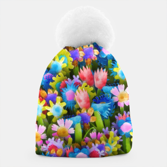 Thumbnail image of Flowers. Children's drawings Beanie, Live Heroes
