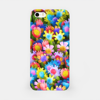 Miniatur Flowers. Children's drawings iPhone Case, Live Heroes