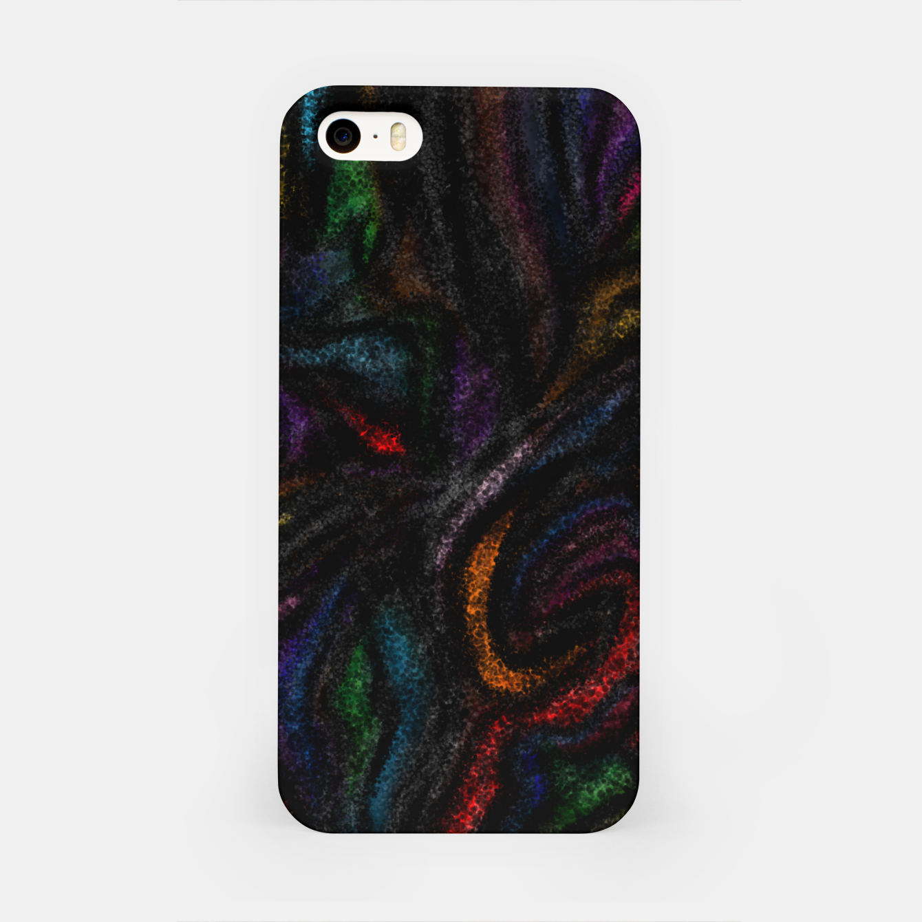Image of silent colors iPhone Case - Live Heroes