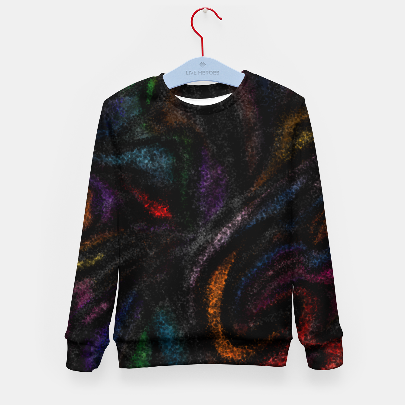Image of silent colors Kid's sweater - Live Heroes