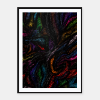 silent colors Framed poster thumbnail image