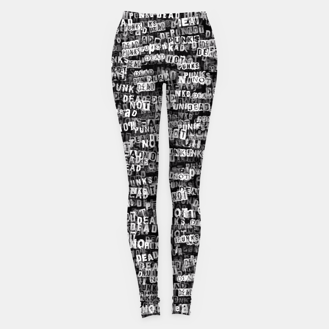 Image of Punks not dead Leggings - Live Heroes