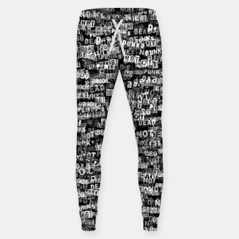 Punks not dead Sweatpants thumbnail image