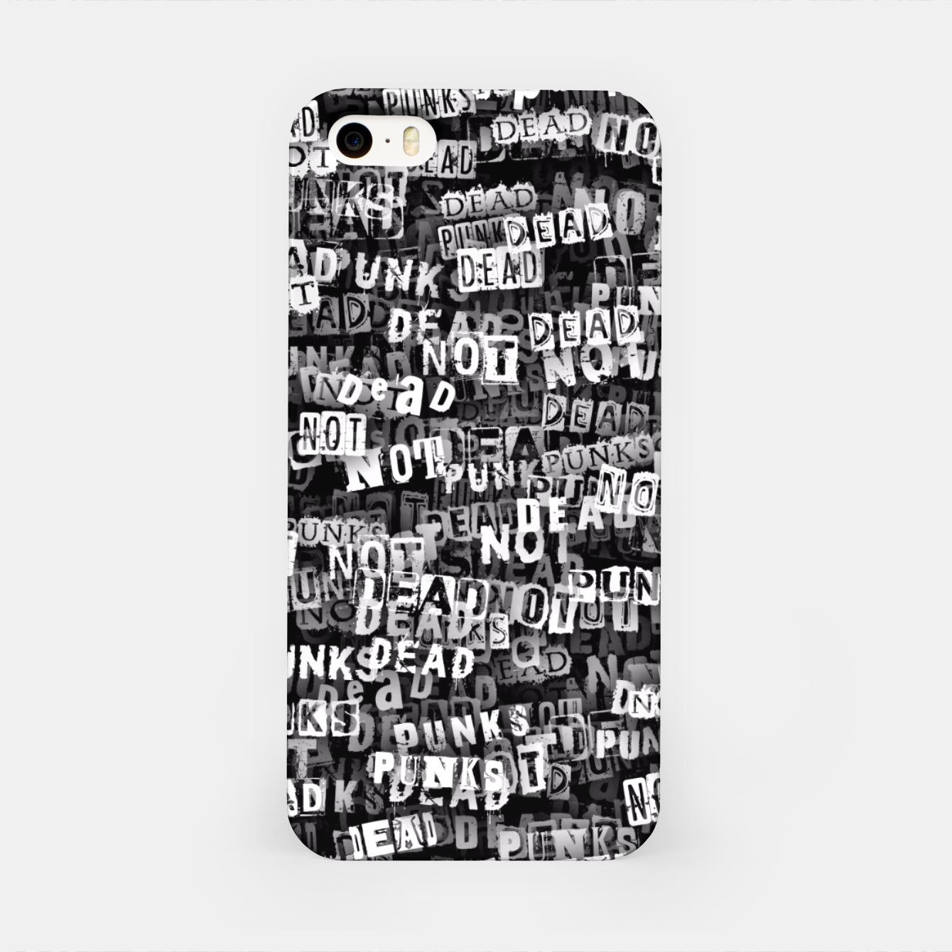 Image of Punks not dead iPhone Case - Live Heroes