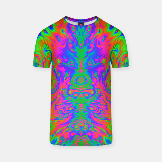 Thumbnail image of Slurp (psychedelic, swirl, trippy) T-shirt, Live Heroes