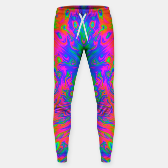 Thumbnail image of Slurp (psychedelic, swirl, trippy) Sweatpants, Live Heroes