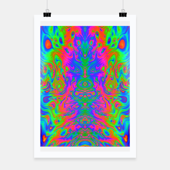 Thumbnail image of Slurp (psychedelic, swirl, trippy) Poster, Live Heroes