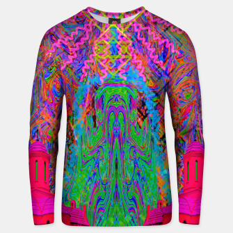 Thumbnail image of Baked By A Southwest Prayer (trippy, psychedelic, abstract) Unisex sweater, Live Heroes