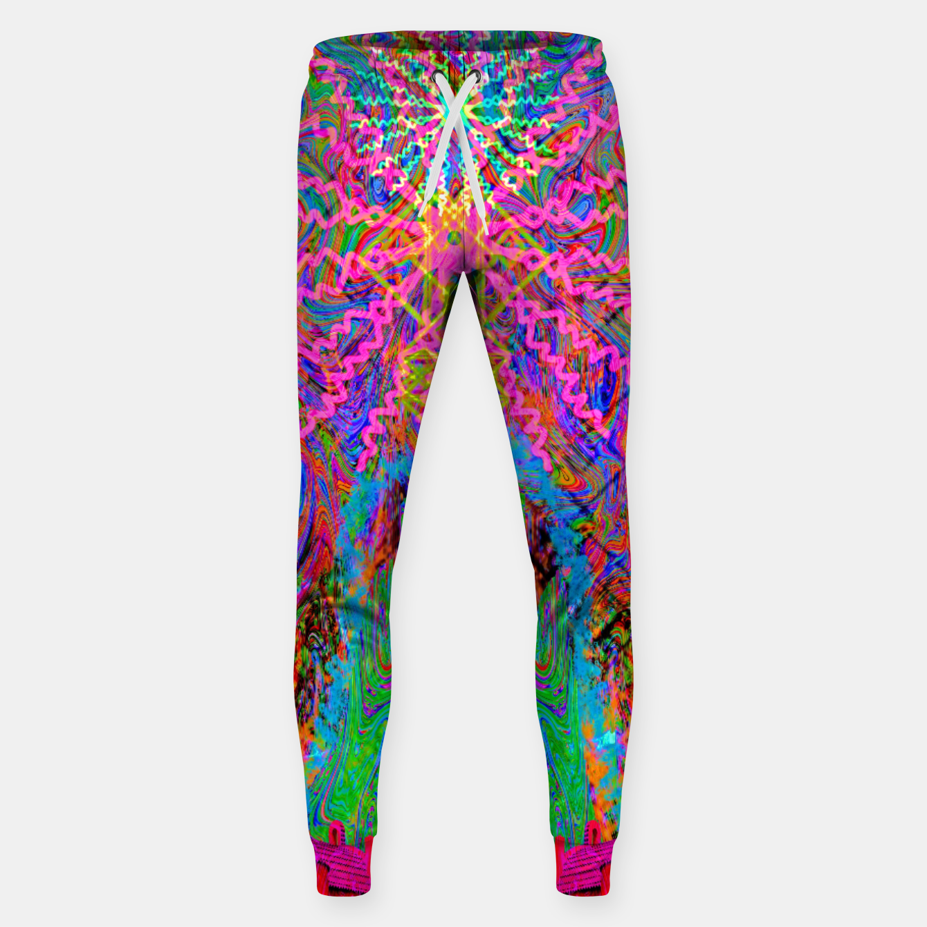 Image of Baked By A Southwest Prayer (trippy, psychedelic, abstract) Sweatpants - Live Heroes
