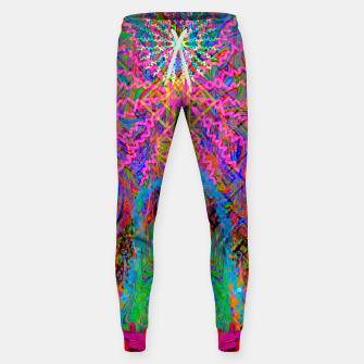 Baked By A Southwest Prayer (trippy, psychedelic, abstract) Sweatpants thumbnail image