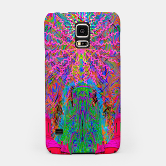 Miniaturka Baked By A Southwest Prayer (trippy, psychedelic, abstract) Samsung Case, Live Heroes