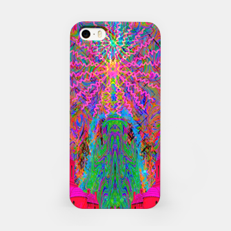 Baked By A Southwest Prayer (trippy, psychedelic, abstract) iPhone Case thumbnail image