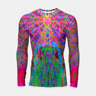 Baked By A Southwest Prayer (trippy, psychedelic, abstract) Longsleeve rashguard  thumbnail image