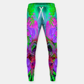 Devil's  Death Weed (marijuana, psychedelic, blacklight) Sweatpants thumbnail image