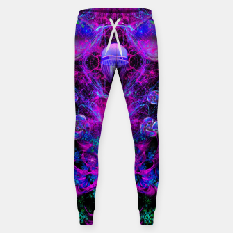Thumbnail image of Mental Magenta Explosion (trippy, psychedelic, visionary art) Sweatpants, Live Heroes