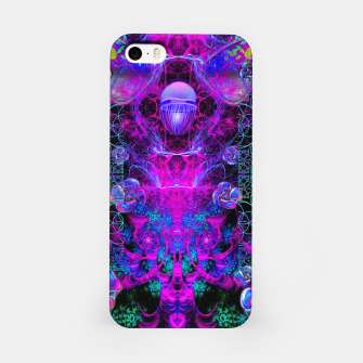Thumbnail image of Mental Magenta Explosion (trippy, psychedelic, visionary art) iPhone Case, Live Heroes