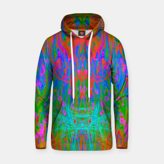 Post Nasal Acid Drip (psychedelic, trippy, melty, fluorescent) Hoodie thumbnail image