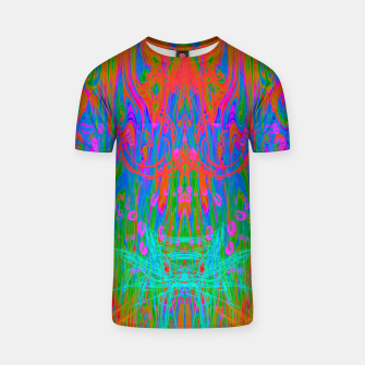 Post Nasal Acid Drip (psychedelic, trippy, melty, fluorescent) T-shirt thumbnail image