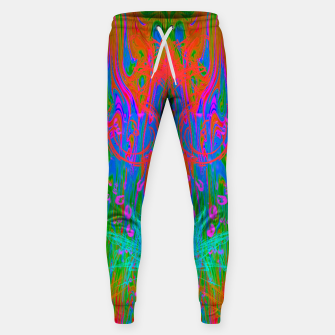 Post Nasal Acid Drip (psychedelic, trippy, melty, fluorescent) Sweatpants thumbnail image