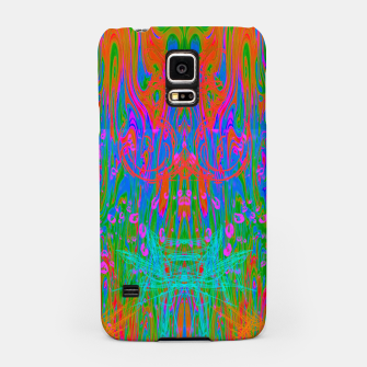 Post Nasal Acid Drip (psychedelic, trippy, melty, fluorescent) Samsung Case thumbnail image