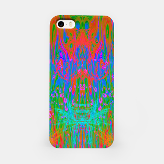 Post Nasal Acid Drip (psychedelic, trippy, melty, fluorescent) iPhone Case thumbnail image