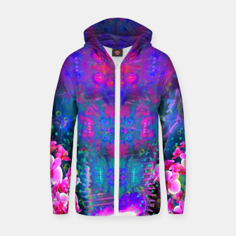 Miniatur Witch Passion Brew (abstract, psychedelic) Zip up hoodie, Live Heroes